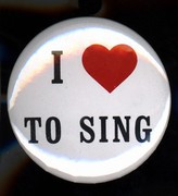 Button I love to Sing