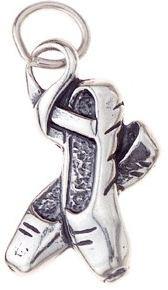 Charm Sterling Silver Ballet Slipper