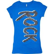 Junior T Rock Glitter Blue