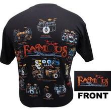 T-Shirt Famous Drums -XLarge