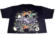 T-Shirt Drums Rockin After Midnight -Large