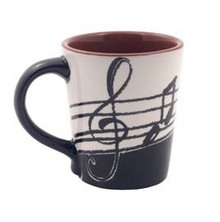 Mug Music Note Latte