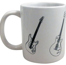 Mug Guitars White