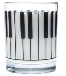 Glass Tumbler Large Keyboard