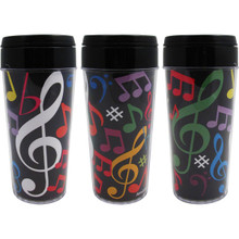 Travel Tumbler 16oz Multi Note