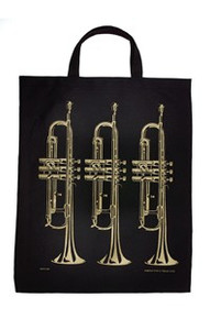 Tote Bag Trumpet Gold XL