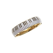 Keyboard Open Bangle Bracelet