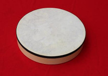 """Drum 10"""", pre-tuned, wooden, natural head"""