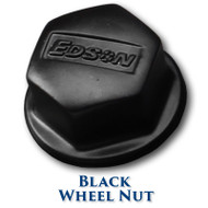 Black Stainless Steel Wheel Nut Kit (1-inch, 5/8-inch, 1/2-inch, 12mm)