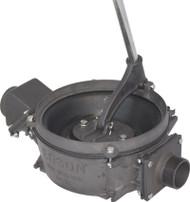 "117AL Manual Side Inlet Lever Action Pump (1.5"" Intake/Discharge) - Aluminum"