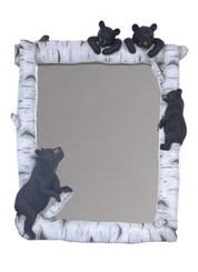 4 Bears Birch Mirror