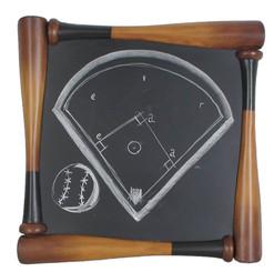 Baseball Bat Chalkboard
