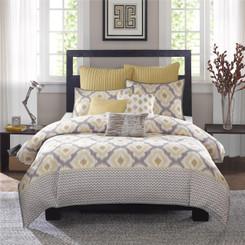 ikat style comforter set