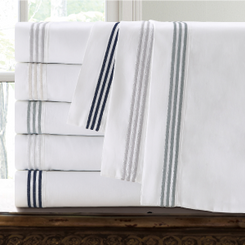 Three Line Hotel Collection Cotton Sheet Set