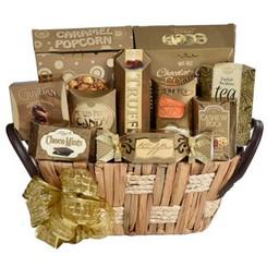 Giftopolis gourmet food basket- free shipping