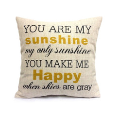 Giftopolis sunshine pillow