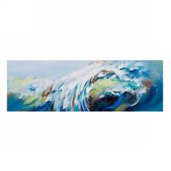 Modern blue ocean waves from giftopolis.ca