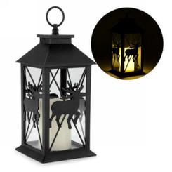 Metal Reindeer Lantern