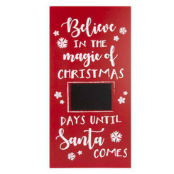 Believe in the Magic of Christmas Countdown Wall Hanging