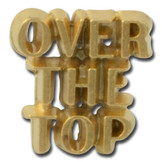 Over-the-top Lapel Pin