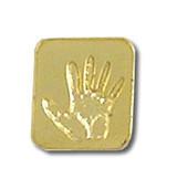 Pro Life Fetal Hand Lapel Pin
