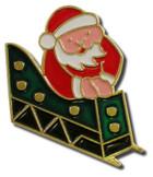 Christmas  Santa in Sleigh