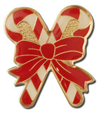 Christmas Crossed Candy Canes Large