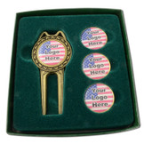 Custom Pro Divot Tool Set with Your Logo or Picture