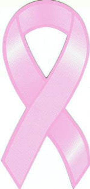 Pink Breast Cancer Awareness Car Magnet