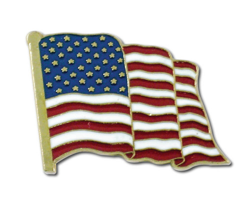 American Made American Flag Pin