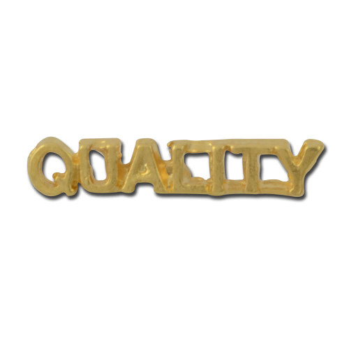 Quality 3 Lapel Pin