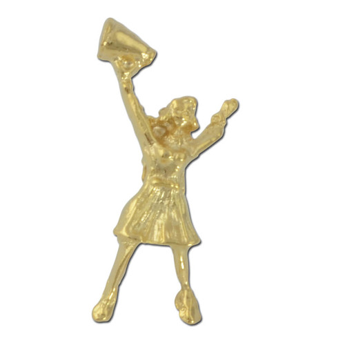 Cheerleader Lapel Pin