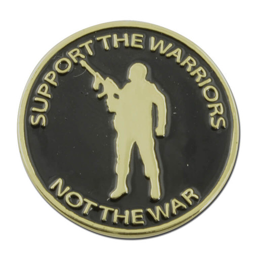Support the Warriors Pin