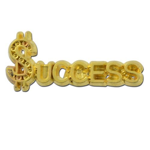 Success 2 Lapel Pin