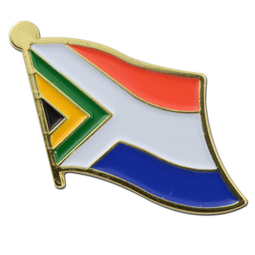 South Africa Flag Pin