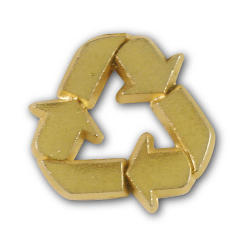 Recycle Logo Pin