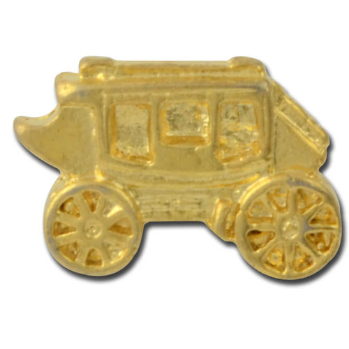 Stagecoach Lapel Pin