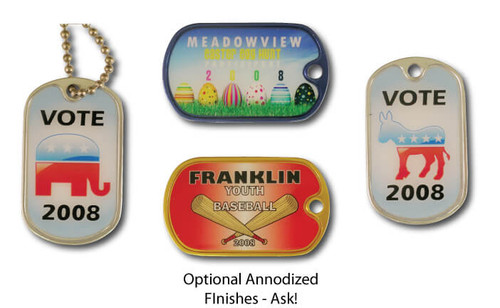 Custom Lapel Pins: Custom Dogtags