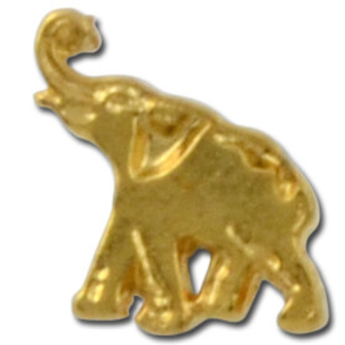 Elephant 2 Lapel Pin