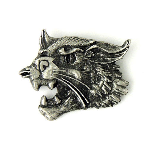 Cat Head Lapel Pin