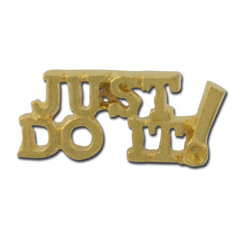 Just do it Lapel Pin