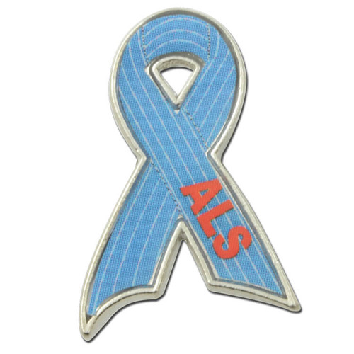 ALS Lou Gehrig's Disease Ribbon Pin
