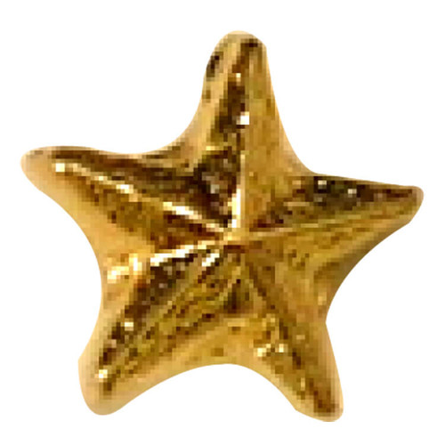 Tiny Beveled Star lapel Pin