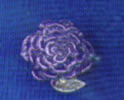 Rose 6 Lapel Pin
