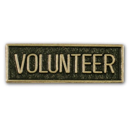 Volunteer Pin