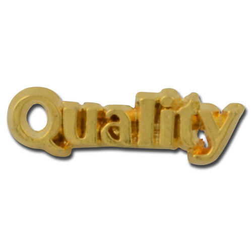 Quality 2 Lapel Pin