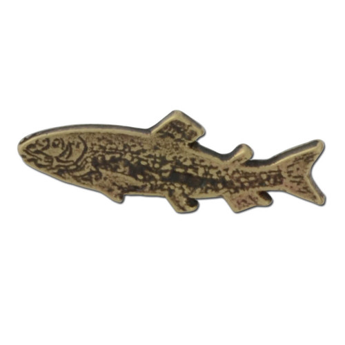Salmon Lapel Pin