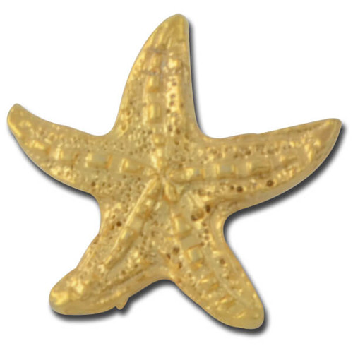 Starfish 3 Lapel Pin