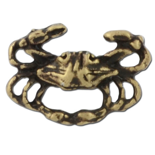 Crab Lapel Pin