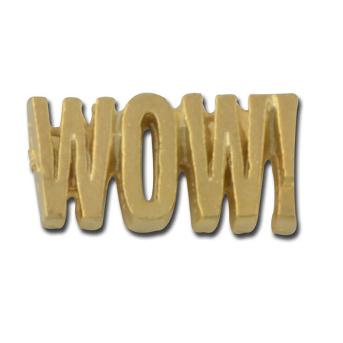 Wow Lapel Pin